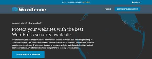 WordPress Security Plugin Wordfence